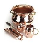 Coppergarden Set aus Kupfer