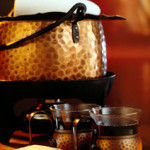 Feuerzangenbowle mit Zuckerhut