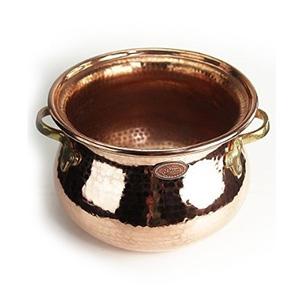 Feuerzangenbowle Topf aus Kupfer